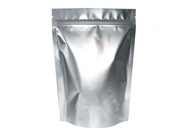 Metalized Silver Color Standy Pouches 7X10 Inch (500gm)  With Ziplock
