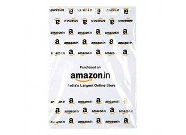 amazon printed courier bag