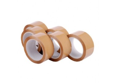Self Adhesive Brown Tapes 1.5 Inch X 65 meters