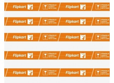 flipkart printed fragile tape