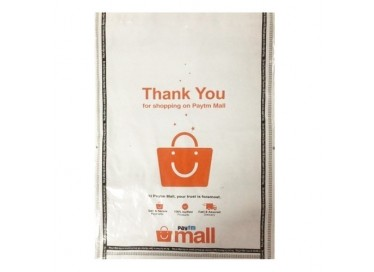 paytm printed courier bag