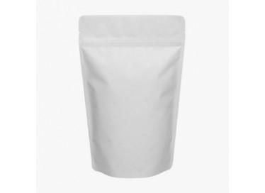 milky white pouch