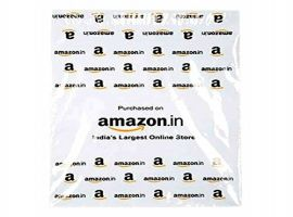 tamper proof amazon printed courier bag